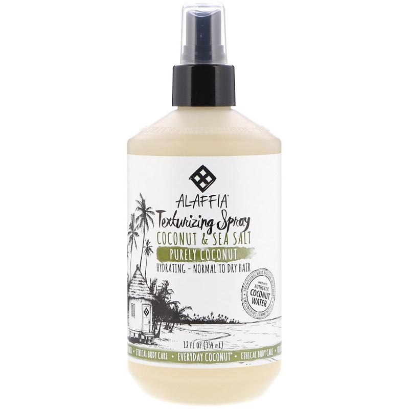 Everyday Coconut, Texturing Spray, Hydrating, Normal to Dry Hair, Coconut & Sea Salt, 12 fl oz (354 ml)