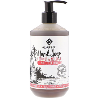 Everyday Coconut, Hand Soap, Purely Coconut, 12 fl oz (354 ml)