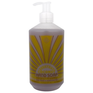Everyday Coconut, Hand Soap, Coconut Pineapple, 12 fl oz (354 ml)