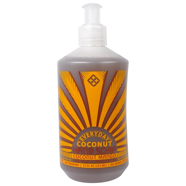 Everyday Coconut, Hand Soap, Coconut Mango, 12 fl oz (354 ml) (Discontinued Item)