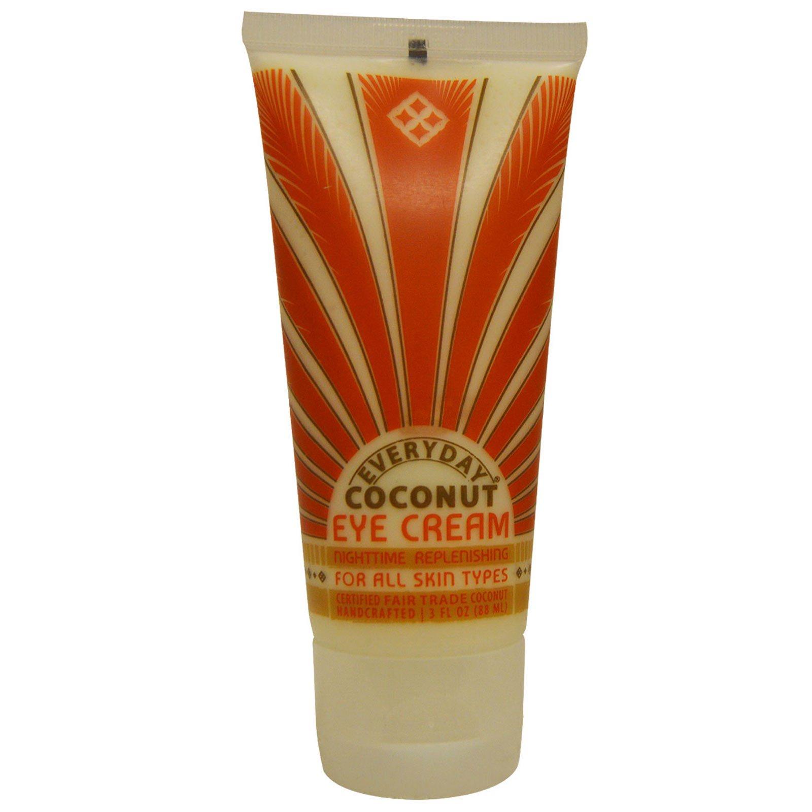 Everyday Coconut, Ежедневный, крем для глаз с кокосом, 3 жидких унции (88 мл)