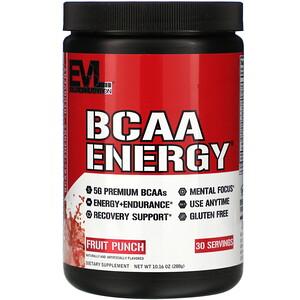 Эвлюшэн Нутришен, BCAA ENERGY, Fruit Punch, 10.16 oz (288 g) отзывы покупателей