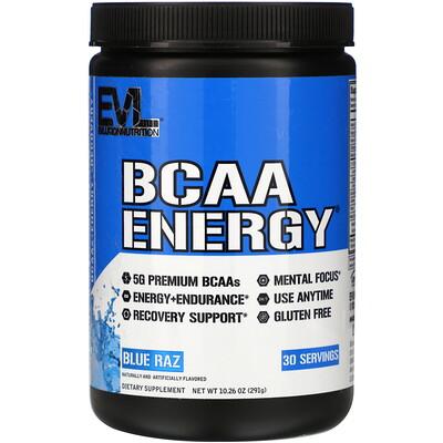 Купить EVLution Nutrition BCAA Energy, Blue Raz, 10.26 oz (291 g)