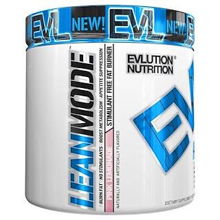 EVLution Nutrition, リーンモード、ピンクレモネード、 6.1 oz (174 g)
