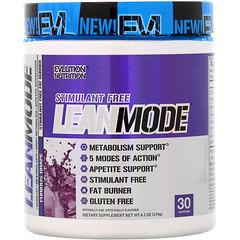 EVLution Nutrition, LeanMode, uva pura, 6,1 oz (174 g)