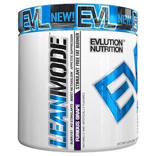 EVLution Nutrition, LeanMode, Furious Grape, 6.1 oz (174 g)