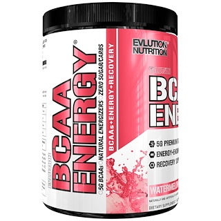 EVLution Nutrition, BCAA Energy, Watermelon, 10.2 oz (288 g)