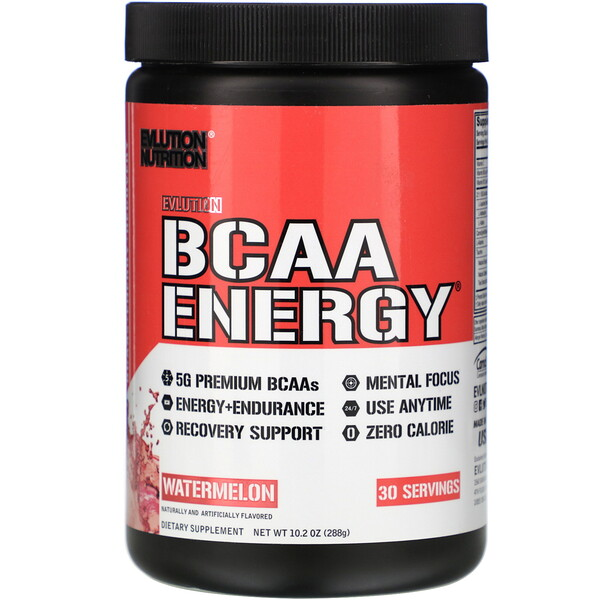 BCAA ENERGY, Watermelon, 10.2 oz (288 g)