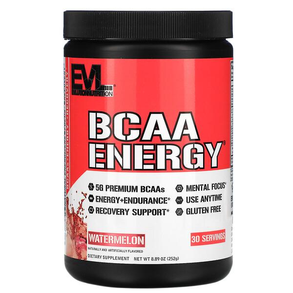 BCAA ENERGY, Watermelon, 8.89 oz (252 g)