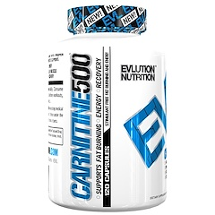 EVLution Nutrition, Carnitine 500, 120 Capsules