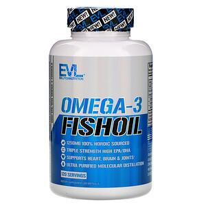 Эвлюшэн Нутришен, Omega-3 Fish Oil, 120 Softgels отзывы
