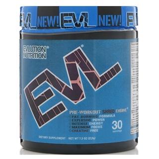 EVLution Nutrition, ENGN Shred, Pre-Workout, Pink Lemonade, 7.5 oz (213 g)