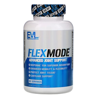 Купить EVLution Nutrition FlexMode, улучшенная поддержка суставов, 90 капсул