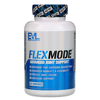 EVLution Nutrition, FlexMode, Advanced Joint Support, 90 Capsules