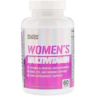 EVLution Nutrition, Women's Multivitamin, 120 Tablets