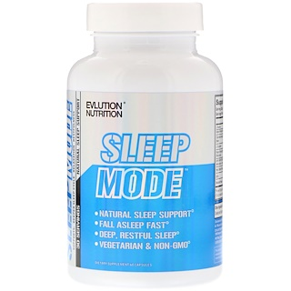 EVLution Nutrition, SleepMode, Natural Sleep Support, 60 Capsules