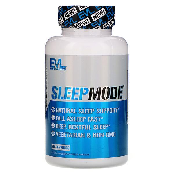 EVLution Nutrition, SleepMode، عدد 60 كبسولة نباتية