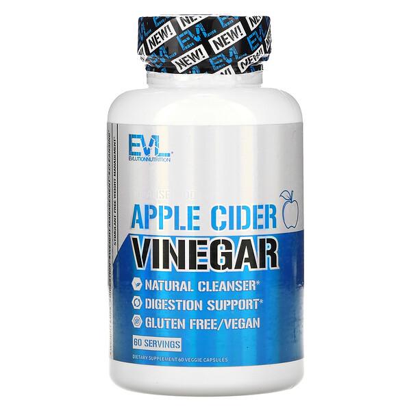 Apple Cider Vinegar, 60 Veggie Capsules