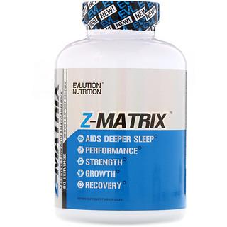 EVLution Nutrition, Z Matrix, 240 Capsules