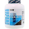 EVLution Nutrition, 100%アイソレート、チョコレートデカダンス、4 lb (1814 g)