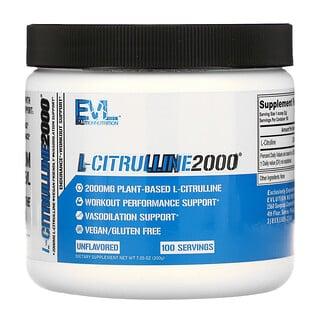 EVLution Nutrition, L-CITRULLINE2000,7.1 盎司(200 克)