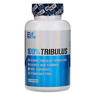 EVLution Nutrition, 100% Tribulus, 60 Veggie Capsules