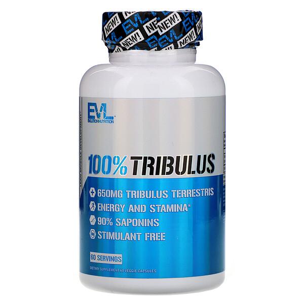 100% Tribulus, 60 Veggie Capsules