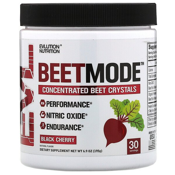 BeetMode, Concentrated Beet Crystal, Black Cherry, 6.9 oz (195 g)