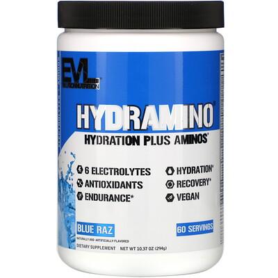 Купить EVLution Nutrition Hydramino, Blue Raz, 10.37 oz (294 g)