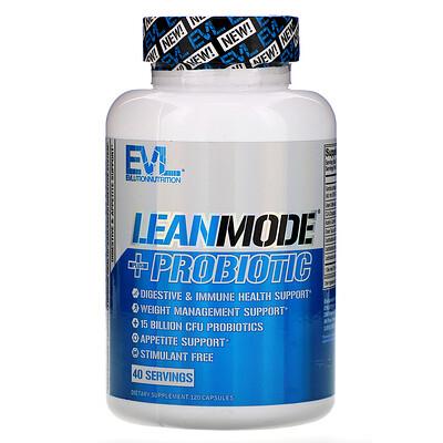 Купить EVLution Nutrition LeanMode+пробиотик, 120капсул