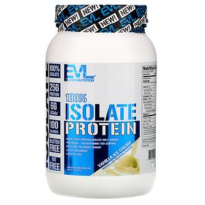 Эвлюшэн Нутришен, 100% Isolate Protein, Vanilla Ice Cream, 1.6 lb (726 g) отзывы