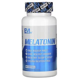 EVLution Nutrition, Melatonin, 5 mg, 100 Tablets
