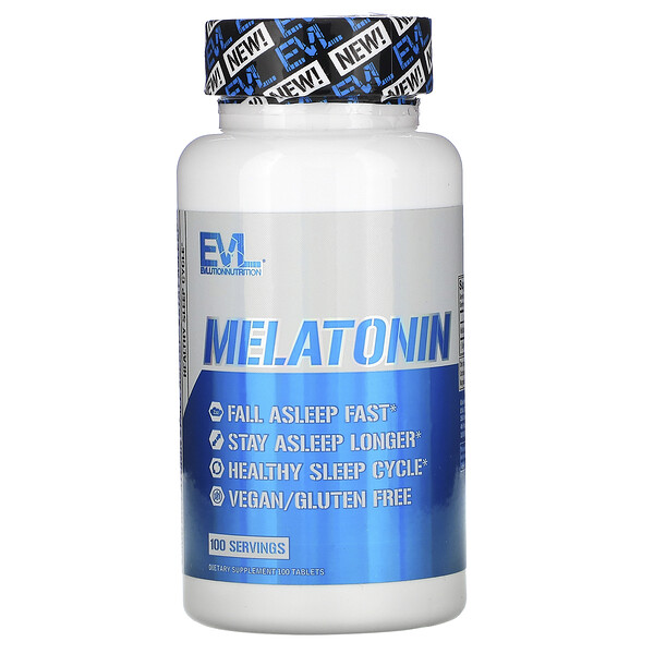 Melatonin, 5 mg, 100 Tablets