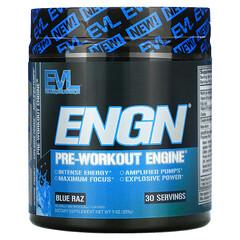 EVLution Nutrition, ENGN,鍛鍊前補充劑,Blue Raz 味,9 盎司(255 克)