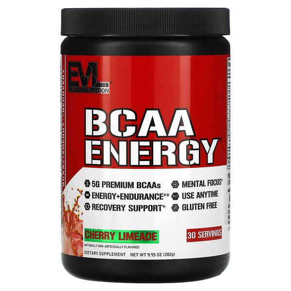 BCAA Energy, Cherry Limeade, 9.95 oz (282 g)
