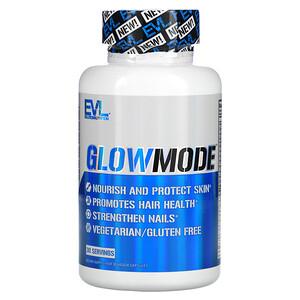 EVLution Nutrition, GlowMode,30 粒素食膠囊