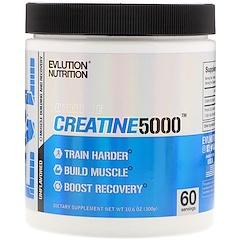 EVLution Nutrition, Creatine5000, Unflavored, 10.6 oz (300 g)