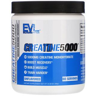 EVLution Nutrition, CREATINE5000, Unflavored, 10.58 oz (300 g)