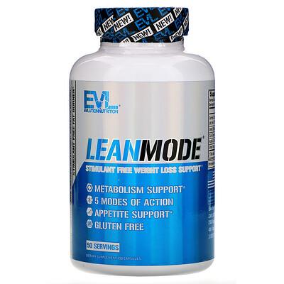 Lean Mode, Stimulant-Free Fat Burner, 150 Capsules