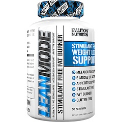 EVLution Nutrition, Lean Mode, Stimulant Free, 150 Capsules