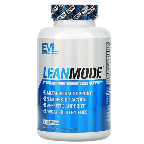 EVLution Nutrition, LeanMode,150 粒素食膠囊