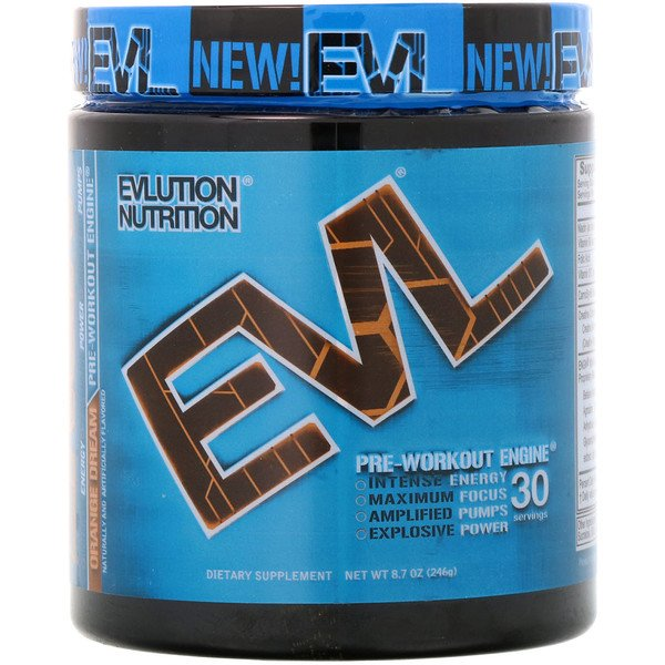 EVLution Nutrition, ENGN Pre-Workout, Orange Dream, 8.7 oz (246 g)