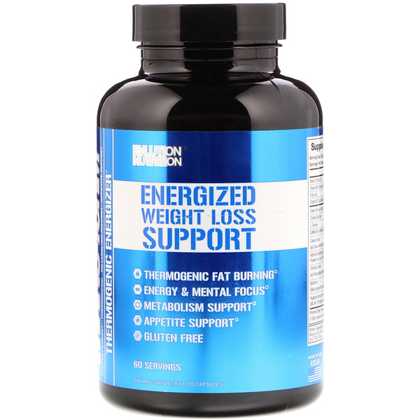 Trans4orm Thermogenic Energizing Fat Burner Supplement, 120 Capsules