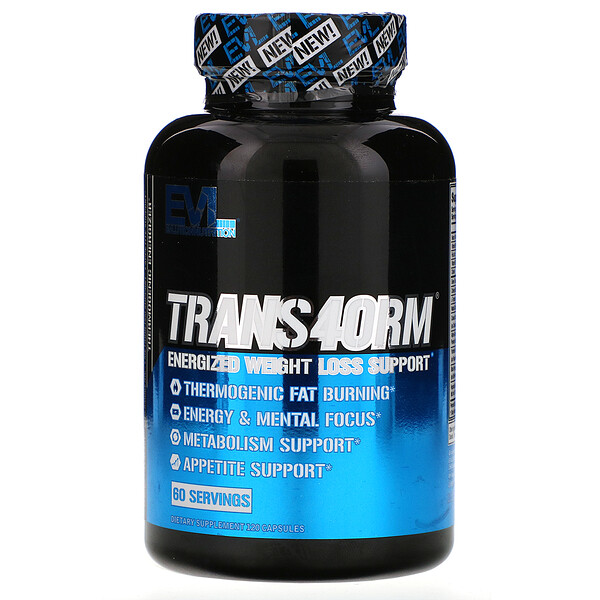 Trans4orm, Energized Weight Loss Support, 120 Capsules