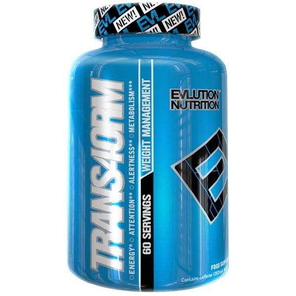 EVLution Nutrition, Trans4orm, 120 Capsules