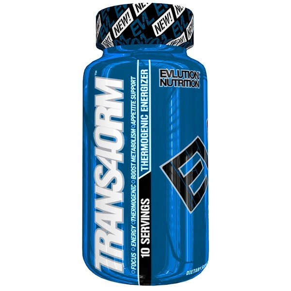 EVLution Nutrition, Trans4orm, 20 Capsules