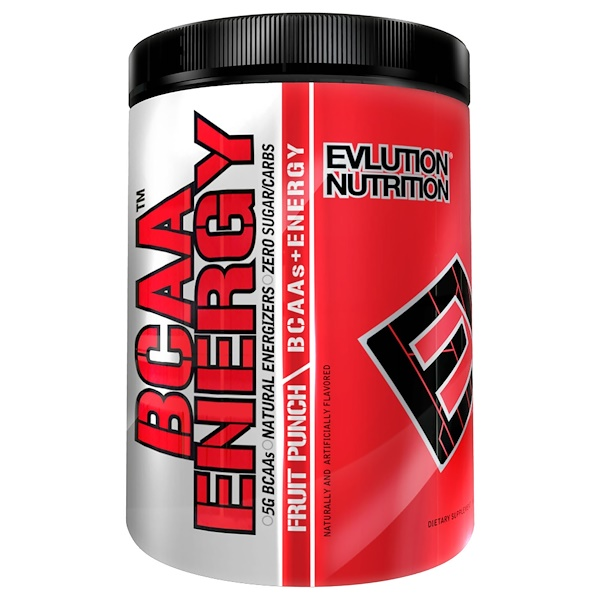 EVLution Nutrition, BCAA Energy, Fruit Punch, 10.2 oz (288 g) (Discontinued Item)