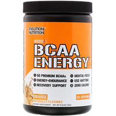 EVLution Nutrition, BCAA Energy, апельсиновая мечта, 285 г
