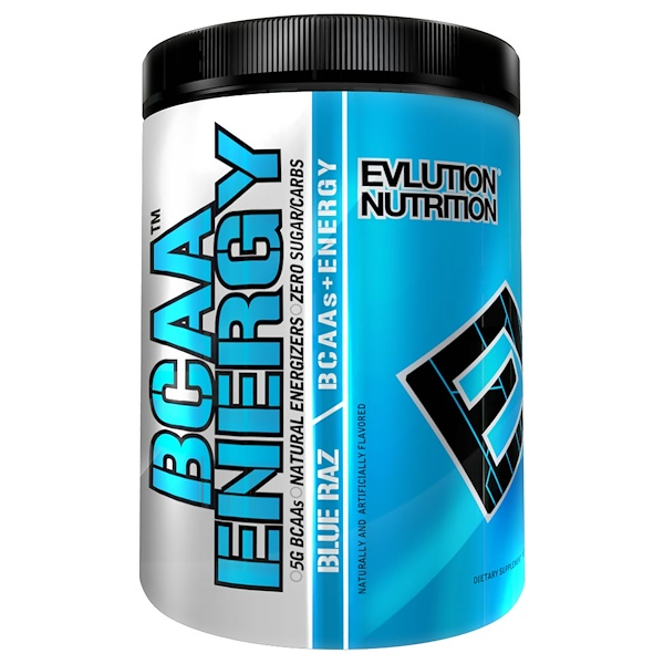 EVLution Nutrition, BCAA Energy, Blue Raz, 9.5 oz (270 g) (Discontinued Item)