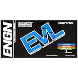 Отзывы о EVLution Nutrition, ENGN Pre-Workout Engine, Variety Pack, 3 Packets, 0.4 oz (11.2 g) Each